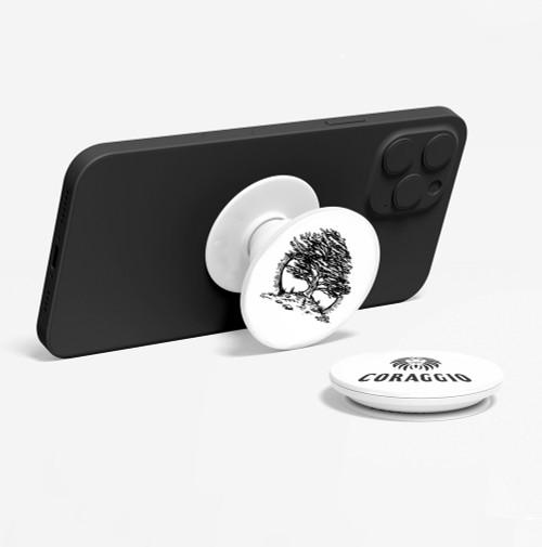 CORAGGIO Cedar of Lebanon Pop-Up Phone Holder