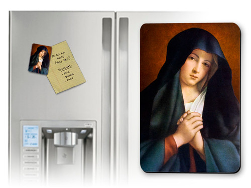 Crying Madonna Magnet