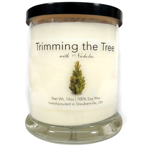 """""""Trimming the Tree with Nicholas""""  Soy Candle"""