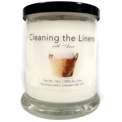 """""""Cleaning the Linens with Anne""""  Soy Candle"""