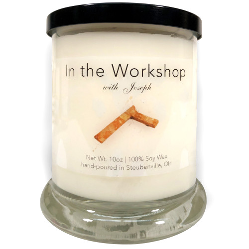 """""""In The Workshop with Joseph""""  Soy Candle"""