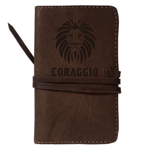 CORAGGIO Rustic Leather Journal Cover