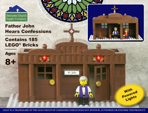 LEGO Confessional Set with Father John