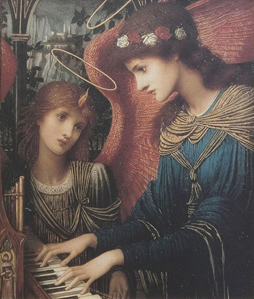 LIMITED EDITION St. Cecilia Canvas in Assorted Frames