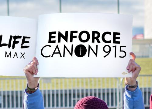 Enforce Canon 915 Waterproof Signs (Pack of 12)