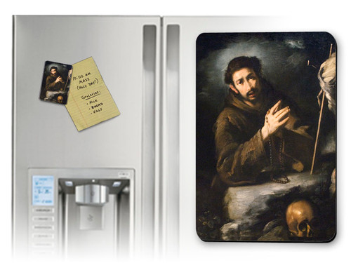 St. Francis of Assisi in Prayer Magnet