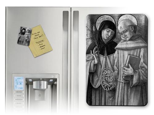 Sts. Catherine & Bernadino Magnet