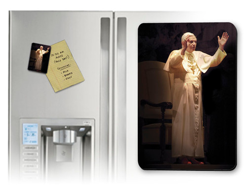 Pope Benedict Standing in Blessing Magnet