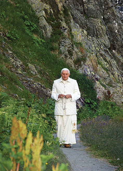Pope Benedict XVI on a Mountain Dozen Postcards