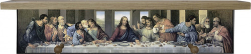 Last Supper by Da Vinci Restored Shelf
