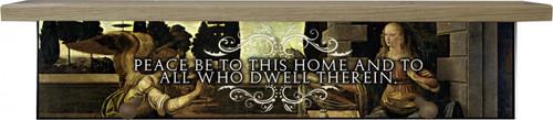 Peace to this Home Shelf