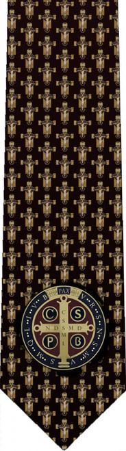 Benedictine Cross Tie