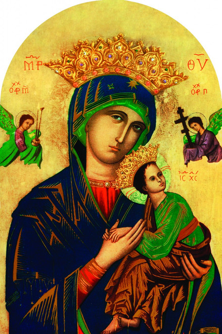 Mother of Perpetual Help Arched Magnet