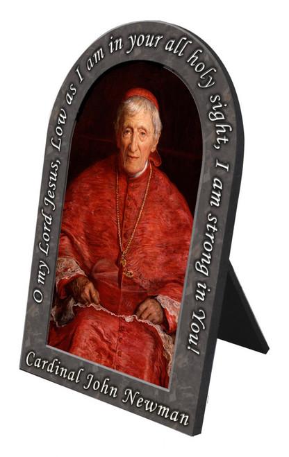 St. John Newman Prayer Arched Desk Plaque