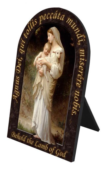L'Innocence Prayer Arched Desk Plaque