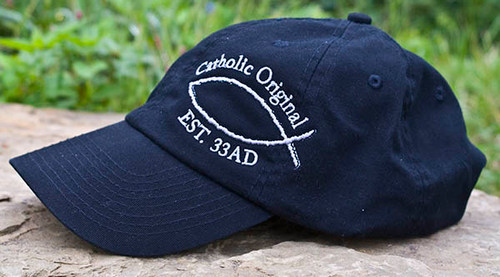 Catholic Original Fish Twill Hat