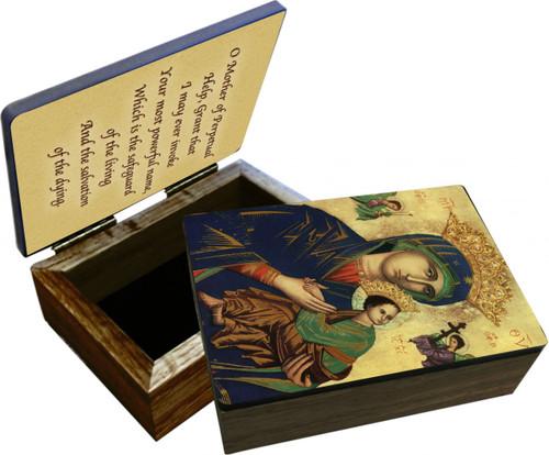 Mother of Perpetual Help Keepsake Box