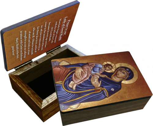 Our Lady of Good Health Keepsake Box