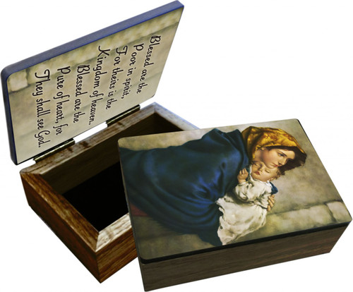 Madonna of the Streets Keepsake Box