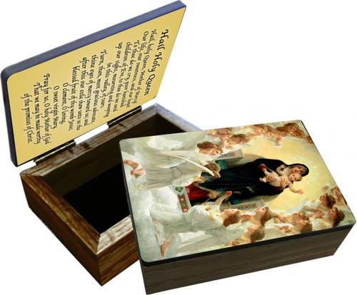 Queen of the Angels Keepsake Box