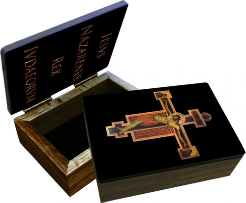 Byzantine Crucifix Keepsake Box