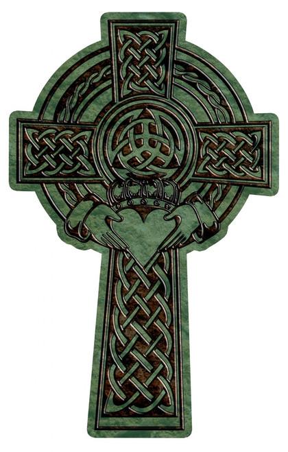 Celtic Claddagh Cross