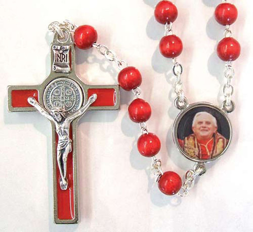 Pope Benedict XVI Commemorative Rosary
