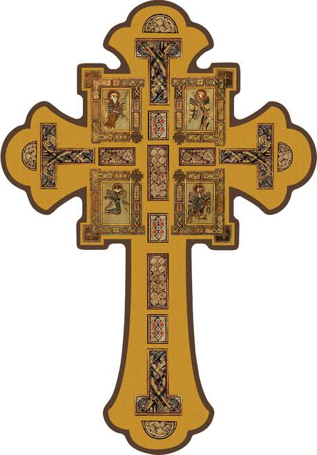Gospel Writers Icon Cross
