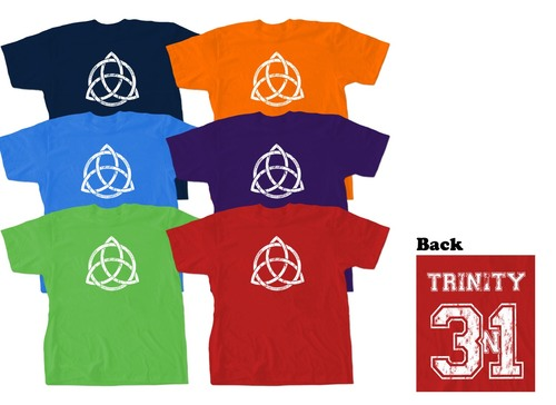 Football-Style Trinity Children's T-Shirt