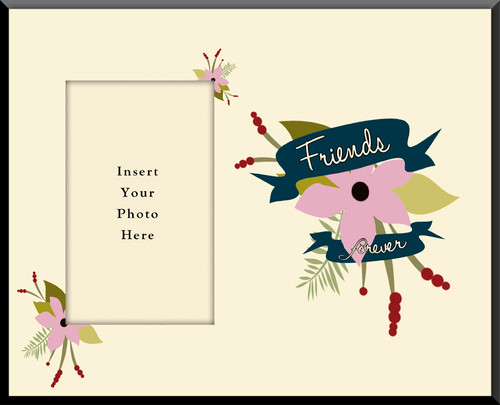 Friends Forever Photo Frame(Insert Your Photo)