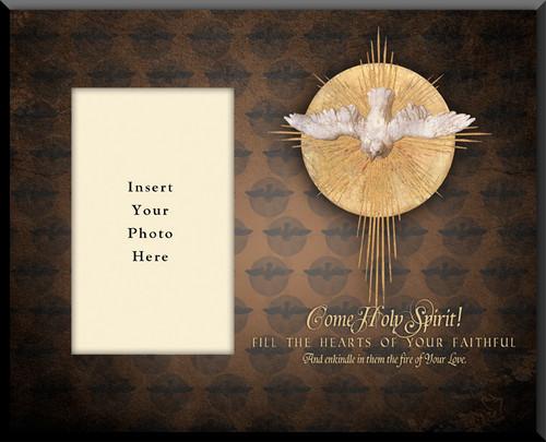 Come Holy Spirit Photo Frame