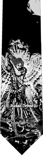 St. Michael Defend Us Tie
