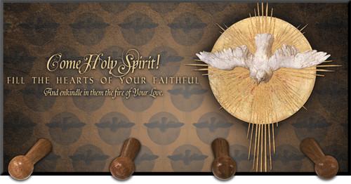 Holy Spirit Keychain Holder
