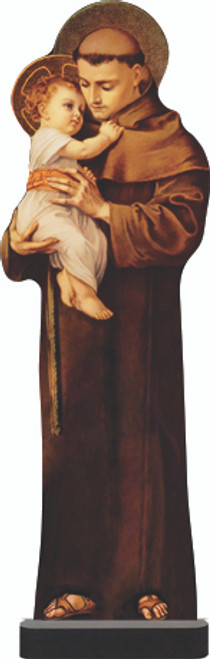 St. Anthony with Jesus Standee
