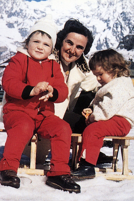 St. Gianna Molla (Snow) Holy Card