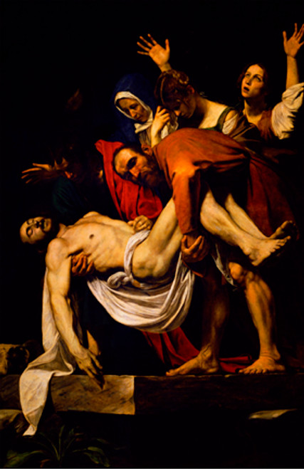 Deposition of Christ by Caravaggio - Print