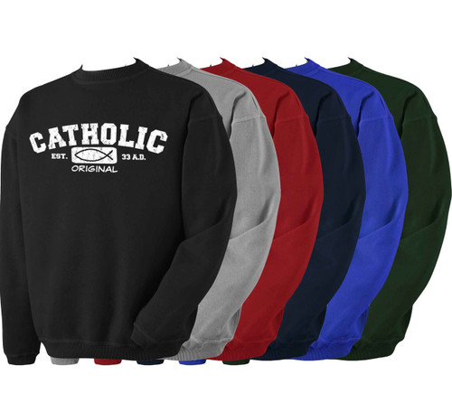 Catholic Original Crewneck Sweatshirt