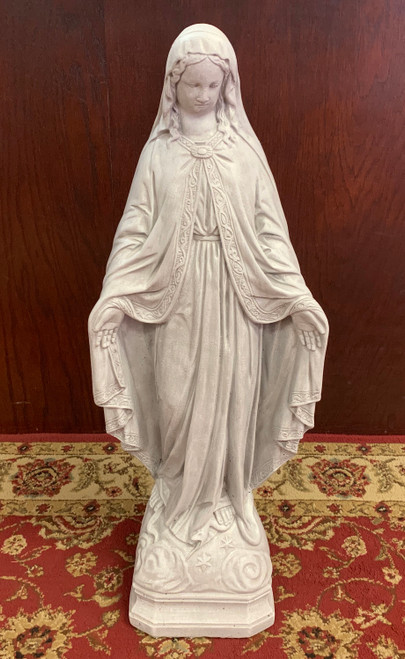 "Our Lady of Grace 27"" Outdoor Statue (Call to Order)"