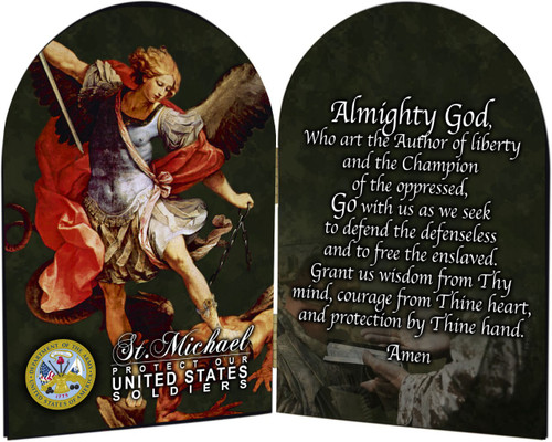 Army - St. Michael Arched Diptych