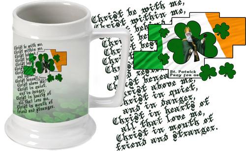 St. Patrick Beer Stein
