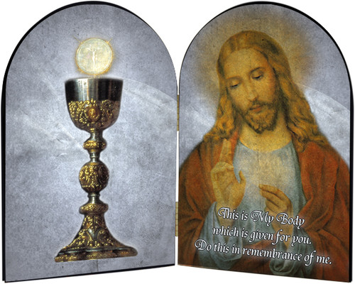 Chalice Arched Diptych