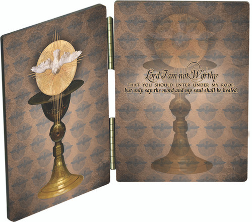 Chalice with Holy Spirit Diptych