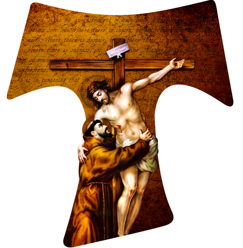 St Francis Tau Cross
