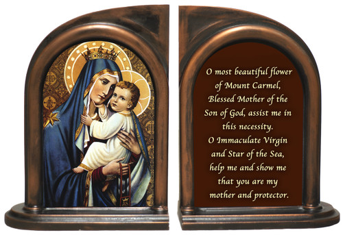 Our Lady of Mt. Carmel Bookends