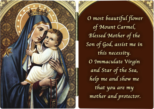 Our Lady of Mt. Carmel Diptych