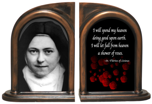 St. Therese (Adult) Bookends
