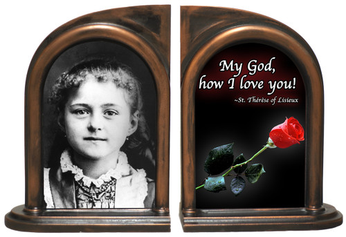 St. Therese (Child) Bookends
