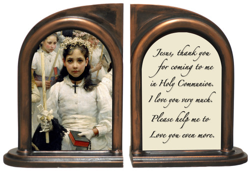 After the First Holy Communion (Detail 1 Girl) Bookends