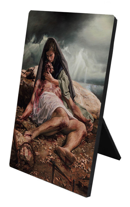 Pieta (Jenicke) Desk Plaque