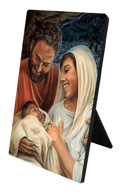 Nativity Desk Plaque